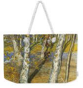 A Summer Day On A Norwegian Fjord Weekender Tote Bag by Hans Dahl