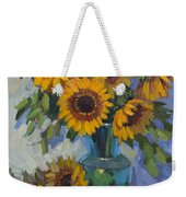 A Sunflower Day Weekender Tote Bag