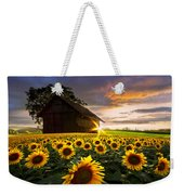 A Sunflower Moment Weekender Tote Bag