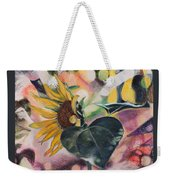A Sunflower's Heart Weekender Tote Bag