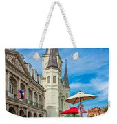 A Sunny Afternoon In Jackson Square Weekender Tote Bag