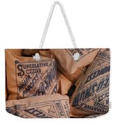 A Supply Of Flour Weekender Tote Bag