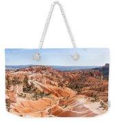 A Sweeping Vista At Bryce Canyon  Weekender Tote Bag
