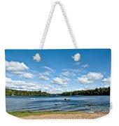 A Swim In The Lake Weekender Tote Bag