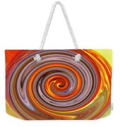 A Swirl Of Colors From The Sun And Earth Weekender Tote Bag