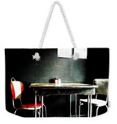 A Table For Two Weekender Tote Bag