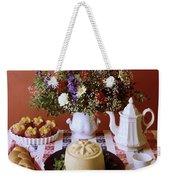 A Table Of Pastries Weekender Tote Bag