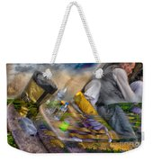 A Tale Of Two Worlds Weekender Tote Bag