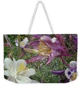 a taste of dew i do and PCC  garden too     GARDEN IN SPRING MAJOR Weekender Tote Bag by Kenneth James