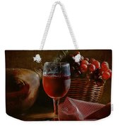 A Taste Of The Grape Weekender Tote Bag