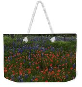 A Texas Roadside Weekender Tote Bag