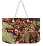 A Thrilling Charge, Illustration Weekender Tote Bag