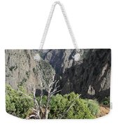 A Thunderstorm Is Approaching Over The Black Canyon Weekender Tote Bag