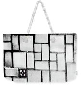 A Tiled Wall Weekender Tote Bag