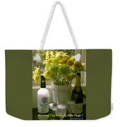 A Toast Of Cheers For The New Year Weekender Tote Bag