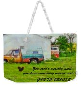 A Touch Of Country Weekender Tote Bag