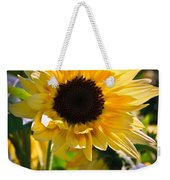 A Touch Of Sunflower Weekender Tote Bag