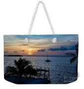 A Tranquil Conquering Of The Night Weekender Tote Bag