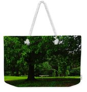 A Tree And A Bench Weekender Tote Bag
