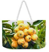 A Tree Full Of Ripe Loquats Weekender Tote Bag