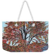 A Tree In Sherborn Weekender Tote Bag