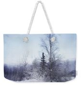 A Tree In The Cold Weekender Tote Bag