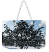 A Tree In Winter Weekender Tote Bag