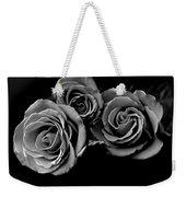 A Trio Of Roses Weekender Tote Bag