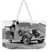 A Trip In The 1930s Weekender Tote Bag