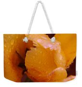 A Tullips Dappled With Rain Weekender Tote Bag