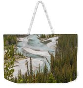 A Turn In The Bow River Weekender Tote Bag