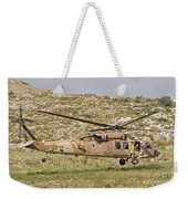 A Uh-60l Yanshuf Helicopter Weekender Tote Bag