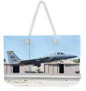 A U.s. Air Force F-15c Eagle Taking Weekender Tote Bag