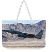 A U.s. Air Force F-15e Strike Eagle Weekender Tote Bag