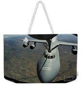A U.s. Air Force Kc-135r Stratotanker Weekender Tote Bag