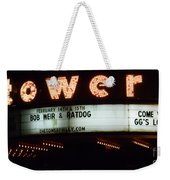 A Valentines Weekend With Ratdog  Tower Theater Marquis Weekender Tote Bag