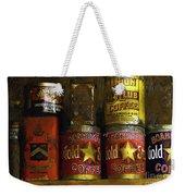 A Variety Of Vintage Tins Weekender Tote Bag