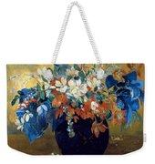 A Vase Of Flowers Weekender Tote Bag