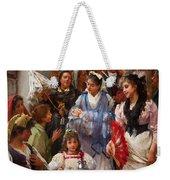A Venetian Christening Party, 1896 Weekender Tote Bag by Henry Woods