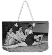 A Very Flexible Woman Weekender Tote Bag