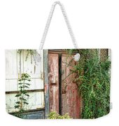 A Very Old Door Weekender Tote Bag