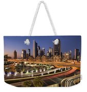 A View From A Mall Weekender Tote Bag