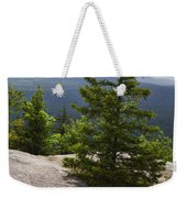 A View From A Mountain In A Vermont State Park Weekender Tote Bag