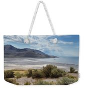 A View From Buffalo Point Of White Rock Bay Weekender Tote Bag