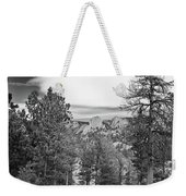 A View From Estes Park Weekender Tote Bag