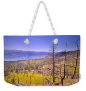 A View From Okanagan Mountain Weekender Tote Bag