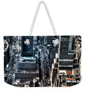 A View From The Empire State Building Weekender Tote Bag