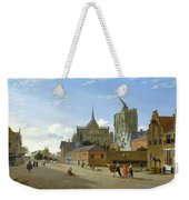 A View In Cologne Weekender Tote Bag