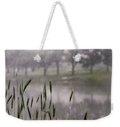 A View In The Mist Weekender Tote Bag