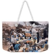 A View In White Chapel Road 1830 Weekender Tote Bag